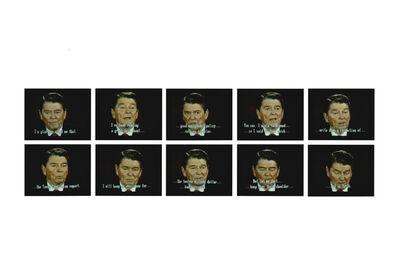 Robert Heinecken, 'Mr. President… Mr. President… A, Set #2', 1987