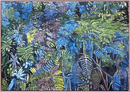Anthony Gross, 'Blue Ferns and Bracken', ca. 1975