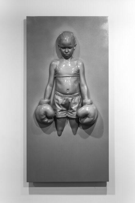 Schoony, 'Panel Bruiser (Grey Prismatic)', 2020
