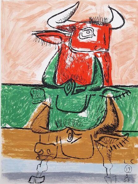 Le Corbusier, 'Unité, Planche 19 (Set of 2)', 1965