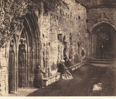 Roger Fenton, 'The Cloisters, Tintern Abbey', 1854