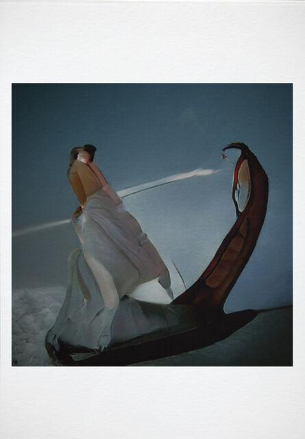 Wanda Tuerlinckx, 'Divina Commedia, purgatorio canto II. Conquering uncertain undertows on the shores of sorrow.', 2021