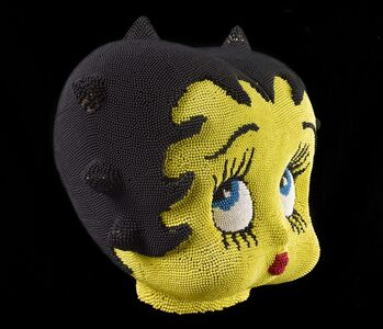 David Mach, 'Betty Boop, Yellow Match Head', 2011