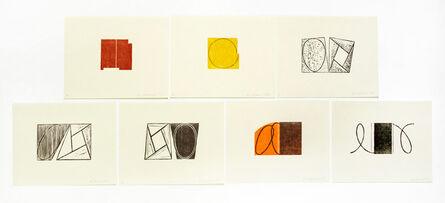 Robert Mangold (b.1937), 'Prints 1968-1998', 2000