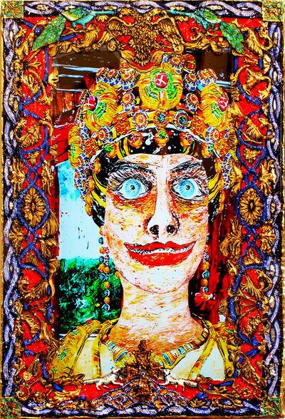 Federico Solmi, 'The Gift Of God (Empress Hagios Theodora -– Byzantium)', 2015