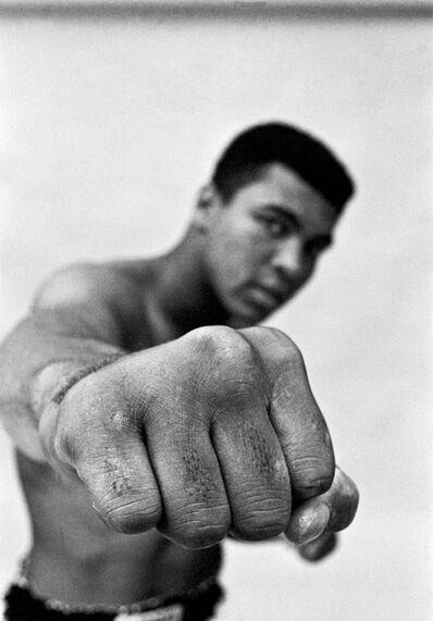 Thomas Hoepker, 'Ali right fist, London', 1966