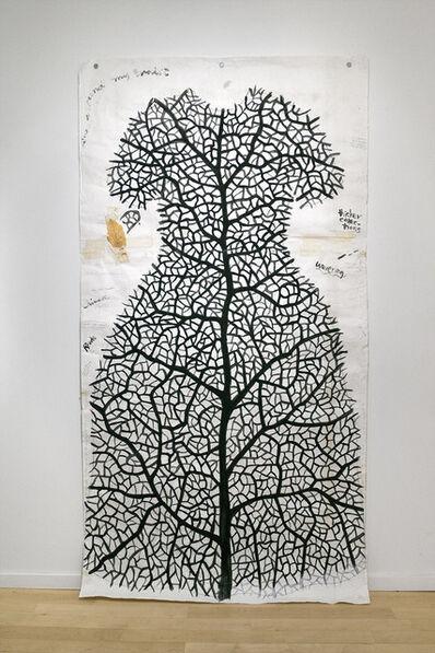 Barb Hunt, 'Study for Leaf Dress', 1994