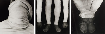 Ivens Machado, 'Untitled (Performance with surgical bandage)', 1973-2018