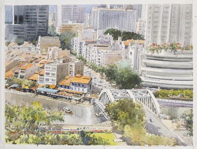 Ong Kim Seng, 'Elgin Bridge, Singapore', 2014