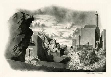 Federico Castellon, 'Spanish Landscape', 1938