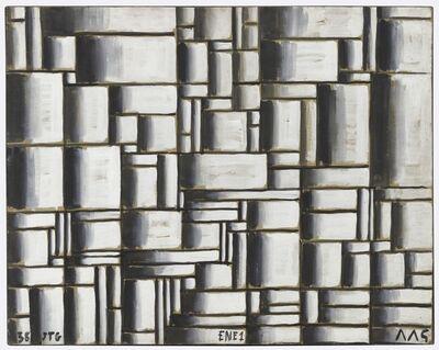 Joaquín Torres-García, 'Construcción en blanco y negro (Construction in white and black)', 1938