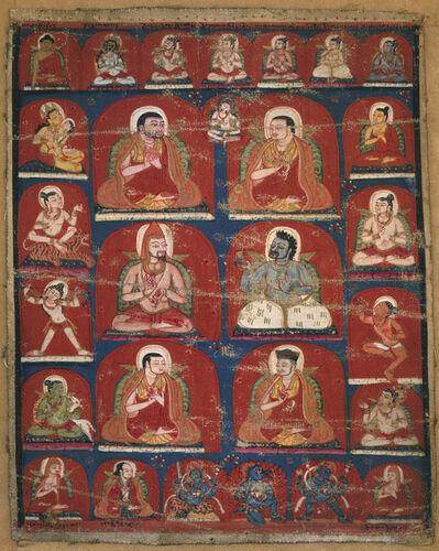 'Taglung Lineage Teachers', 14th century
