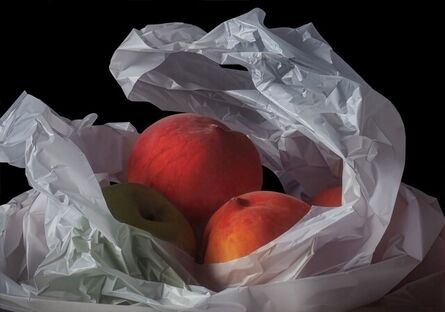 Pedro Campos, 'Two Peaches and an Apple', 2021