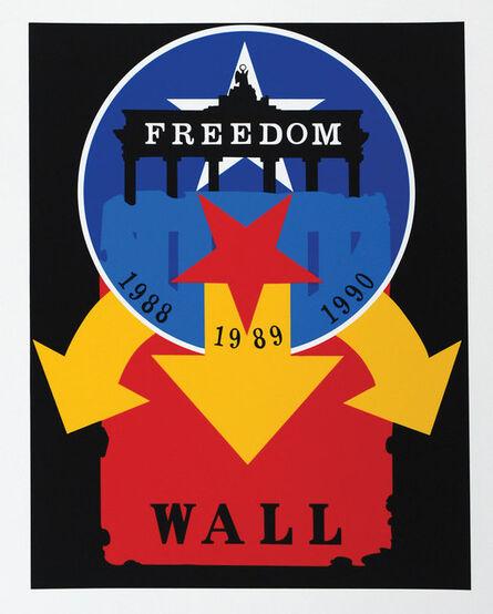 Robert Indiana, 'The Wall', 1997