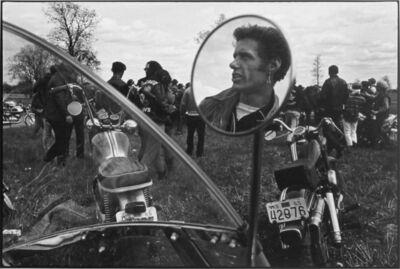Danny Lyon, 'Cal, Elkhorn, Wisconsin, The Bikeriders Portfolio', 1966