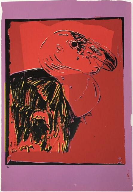 Andy Warhol, 'Vanishing Animals -- California Condor (1)', 1986