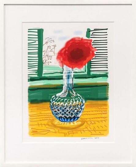 David Hockney, 'My Window, Art Edition B (No. 251–500), 'Untitled No. 281', 23rd July 2010 iPad drawing', 2020