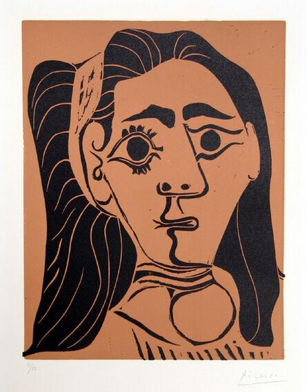 Pablo Picasso, 'Jacqueline au Bandeau ', 1962