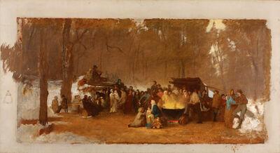 Eastman Johnson, 'Sugaring Off', ca. 1861-1866
