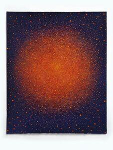 Karen Arm, 'Untitled (Orange-Red Sun on Blue) ', 2015