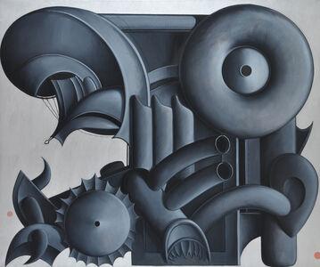 Valton Tyler, 'Pipi B. Char it', 1977