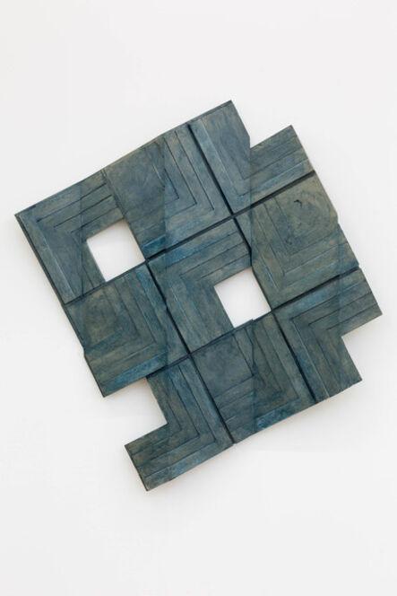 Emmett Moore, 'Stepped Fracture (Blue)', 2016