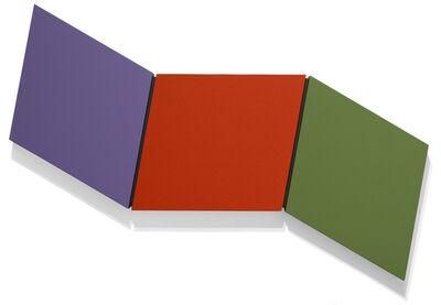Ronald Davis, 'Three Color Wave', 2009