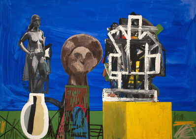Erik Olson (b. 1982), 'Three Sculptures', 2018
