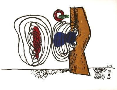 Le Corbusier, 'Meandering Forms', 1963