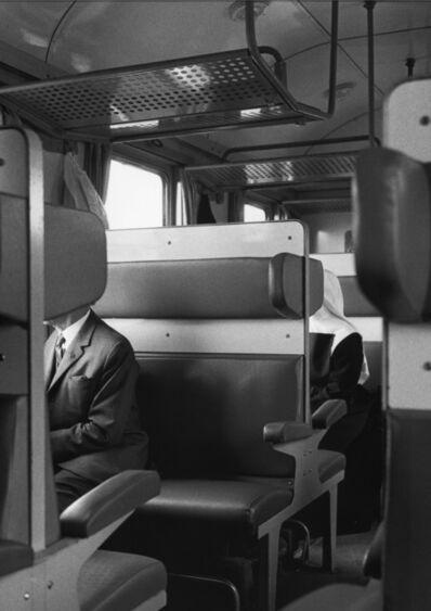 Erich Hartmann, 'on the train', ca. 1980