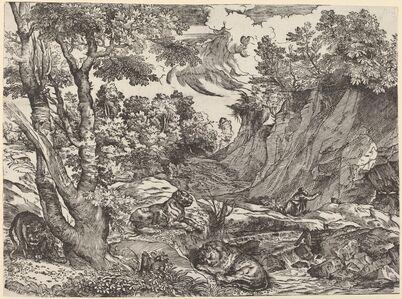 Niccolò Boldrini after Titian, 'Saint Jerome in the Wilderness', ca. 1530/1535