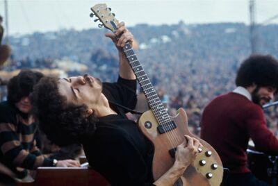 Jim Marshall, 'Carlos Santana, Altamont', 1969