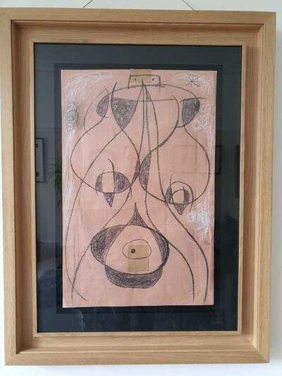 Joan Miró, 'Femme Dans La Nuit', 1977