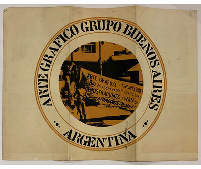 Juan Carlos Romero, 'Arte Gráfico Grupo Buenos Aires', 1977