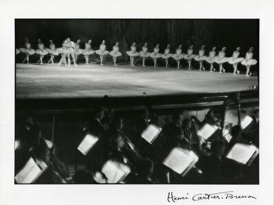 Henri Cartier-Bresson, 'Swan Lake, Bolshoi Theatre, Moscow', 1954