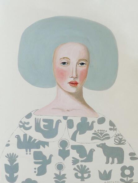 Anne Siems, 'Patterned Cloak', 2020