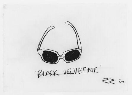 Robin Rhode, 'BLACK VELVETINE', 2001