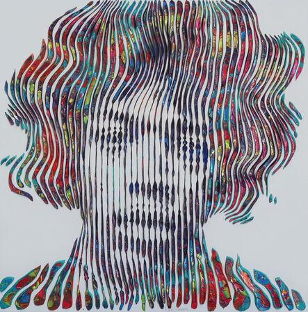 Virginie Schroeder, 'Jimi Hendrix Forever', 2019