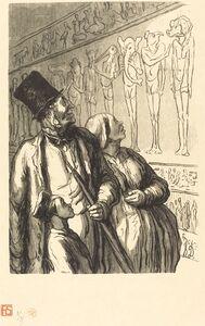 Julien Antoine Peulot after Honoré Daumier, 'Exposition universelle: Section egyptienne', 1867