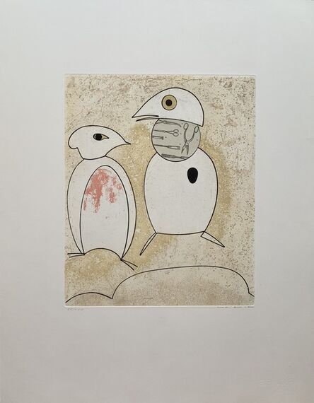 Max Ernst, 'Au printemps il se pare d'une notion nuptiale importée', 1975