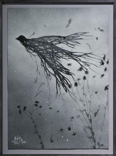 Vegan Flava, 'Roadside Flower in September Mist I', 2020