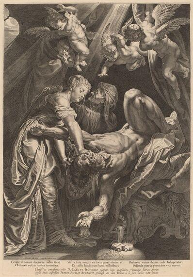 Cornelis Galle I after Sir Peter Paul Rubens, 'Judith Beheading Holofernes', ca. 1610