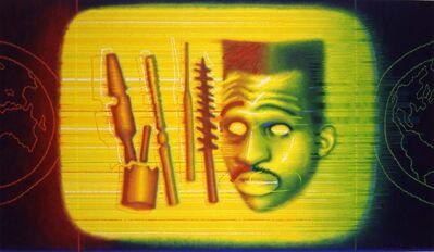 Ed Paschke, 'Tool World', 1990