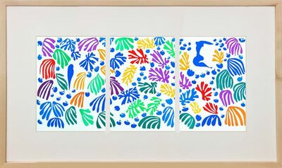 Henri Matisse, 'La Perruche Et la Sirene', 1958