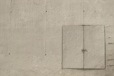 John Fraser, 'White Square & Rectangles    [Barcelona, 2013]', 2015