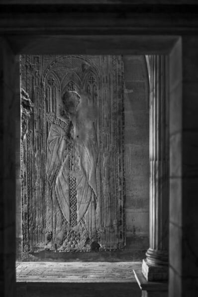 Jean-Christophe BALLOT, 'St Denis Pierre tombale de Jacques Longuejoé grand prieur de Saint-Denis (017)', 2014