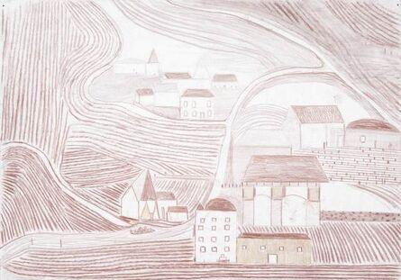 Dirk Zoete, 'Red landscape B', 2018