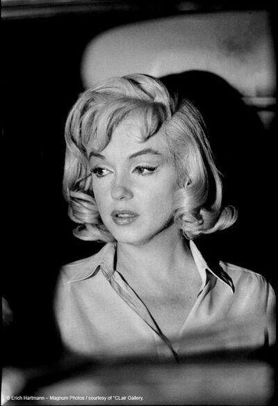 Erich Hartmann, 'Marylin Monroe on the set of the Misfits/Unique vintage print', 1961