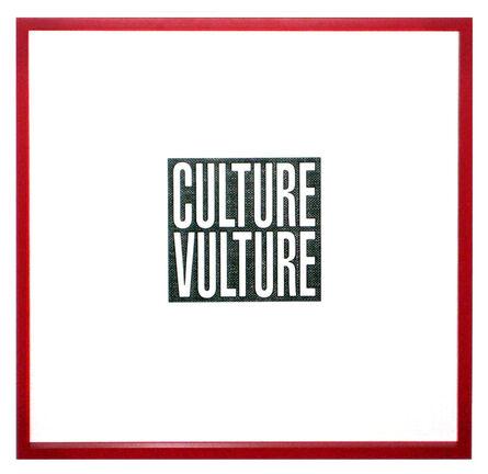 Barbara Kruger, 'Culture Vulture', 2012