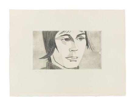 Alex Katz, 'June Ekman's Class: Yvonne', 1972